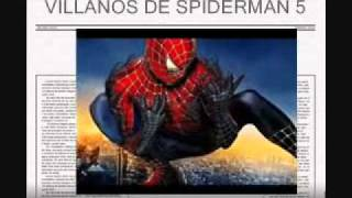 Villanos de spiderman 4 y 5