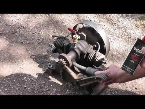 Running an Old Maytag Washing Machine Motor!