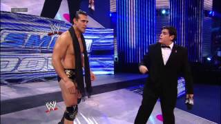 Randy Orton exchanges words with Hell in a Cell opponent Alberto Del Rio: SmackDown, Oct. 26, 2012