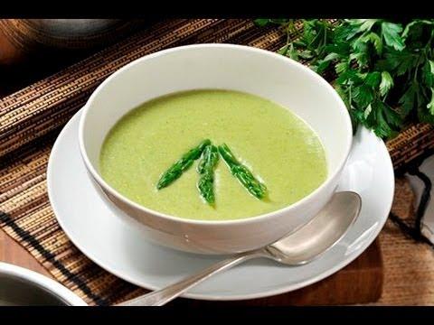 Crema de espárragos - Cream of Asparagus