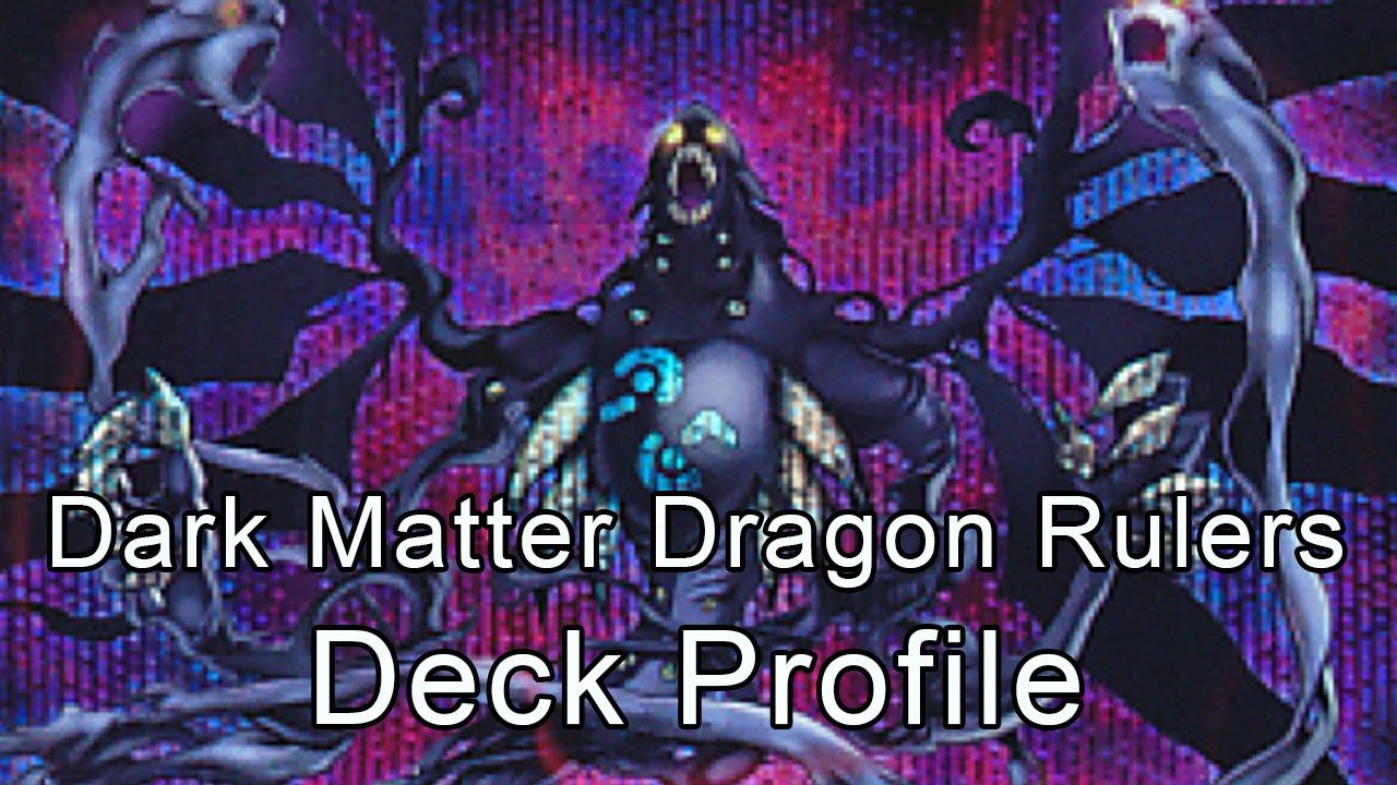 Dragon Ruler Deck 2015 Dark Matter Dragon Rulers Deck