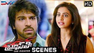 Rakul Preet Gets Confused | Bruce Lee The Fighter Telugu Movie Scenes | Ram Charan | Kriti Kharbanda