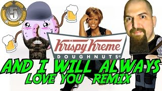 [?And i will always Love you Krispy Kreme| 700 subscribers mo...] Video