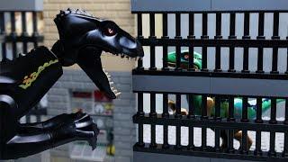LEGO Мультики про ДИНОЗАВРОВ 🦖 ЛЕГО Мир Юрского Периода -10 (ПОБЕГ)
