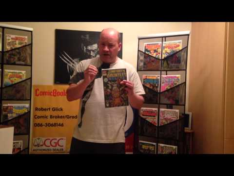 Vlog 2 - ComicBooks.ie Protecting your comic collection