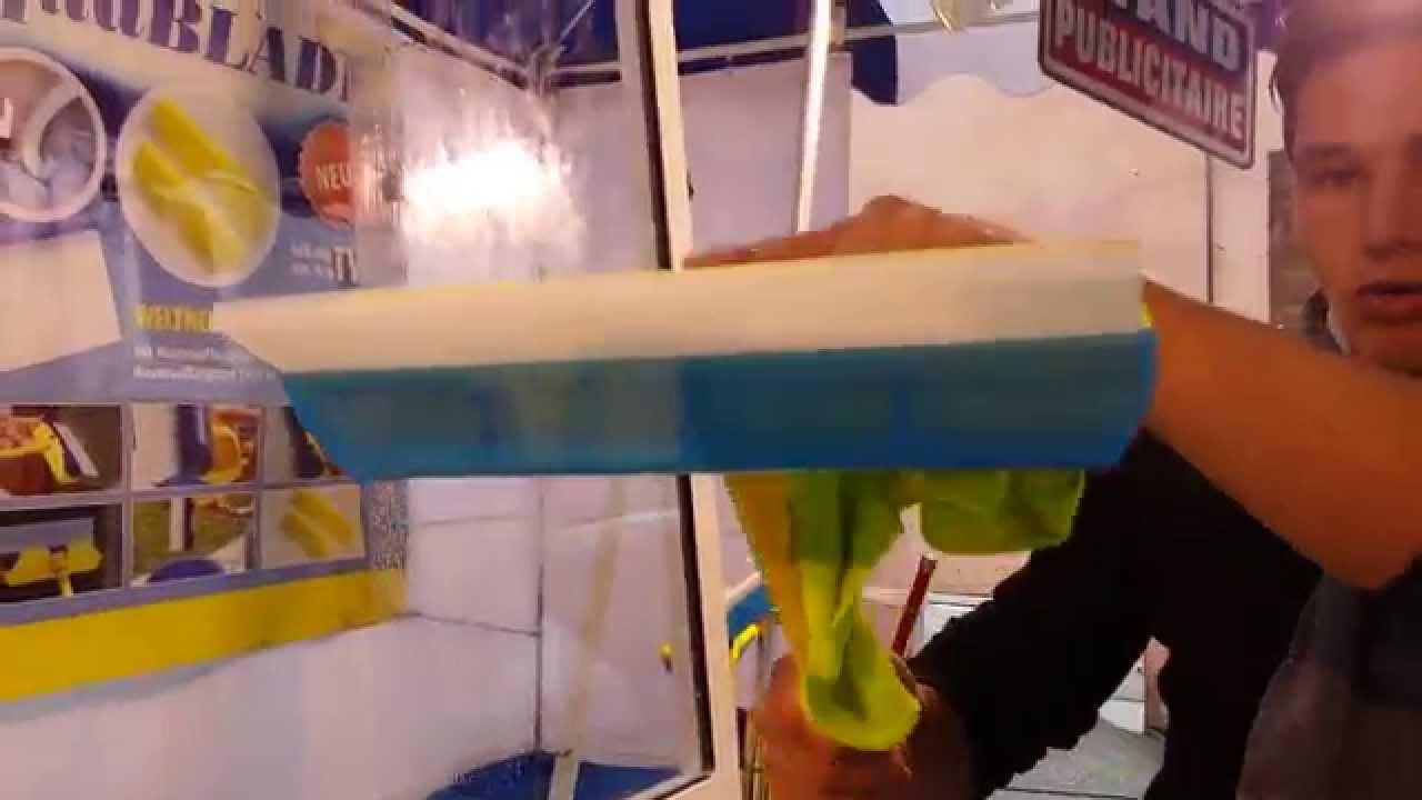 Raclette en silicone aquablade youtube - Silicone pour parquet ...
