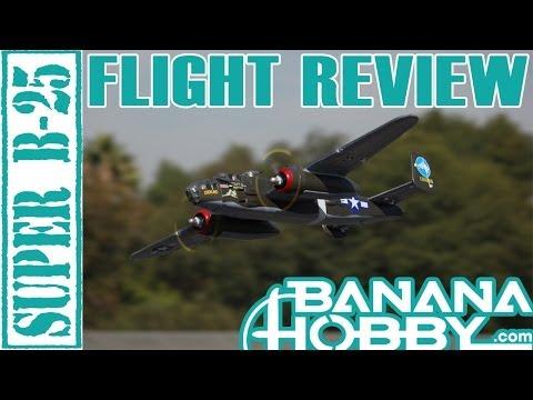 Super B-25 Mitchell LX   Flight Review   Warbird & Military   RCINFORMER