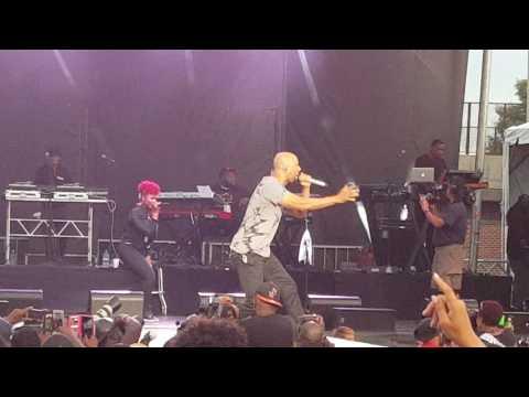 Rapper, poet, singer Common rocks African American Festival