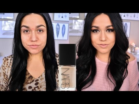 Nars Sheer Glow Foundation Demo & Review