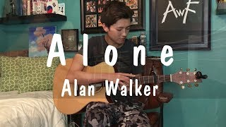 Alone - Alan Walker - Cover Fingerstyle Guitar by Andrew Foy (The Best Guitar Player)