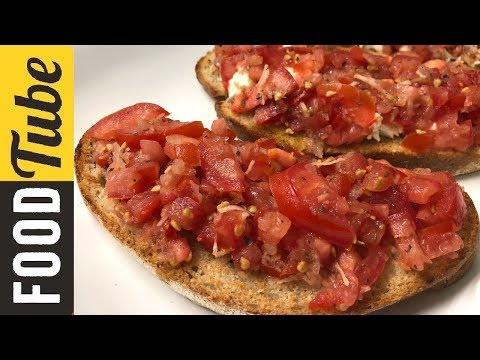 Классическая Брускетта! Вкусные Рецепты by Бодя