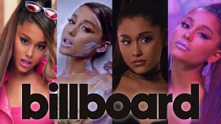 Ariana Grande | Full Billboard Hot 100 History