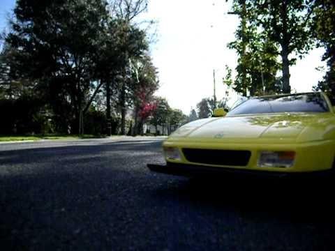 Tyco Ferrari 9.6v r/c turbo