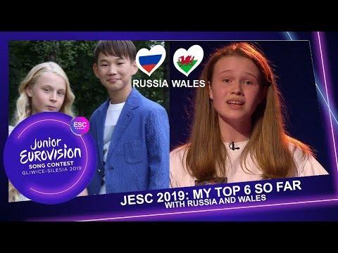 JUNIOR EUROVISION 2019 - MY TOP 6 (+
