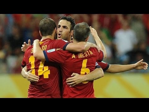 España vs Uruguay  2-1 Resumen Spain vs Uruguay All Goals & Highlights 16.06.2013