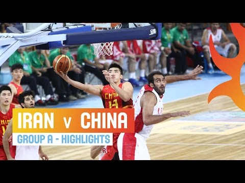 Iran v China - Group A - 2014 FIBA Asia Cup