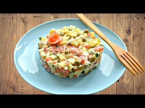 Салаты рецепты с быстро