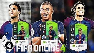 FIFA ONLINE 4: TEST DÀN TEAM Paris Saint-Germain ĐẦY TỐC ĐỘ Vs K. Mbappe 18PL +5 - ShopTayCam.com