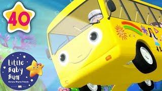 Wheels On The Bus Go Underwater | +More Nursery Rhymes & Kids Songs | Baby Songs | Little Baby Bum
