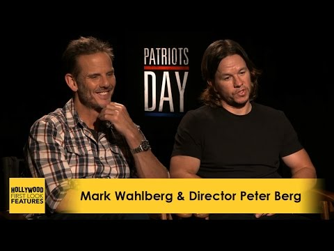 Mark Wahlberg & Director Peter Berg: PATRIOTS DAY (2016)