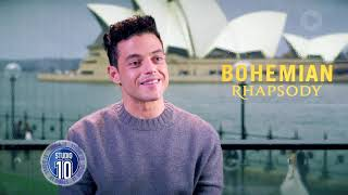 Rami Malek On Embodying Freddie Mercury In 39 Bohemian Rhapsody 39 Studio 10