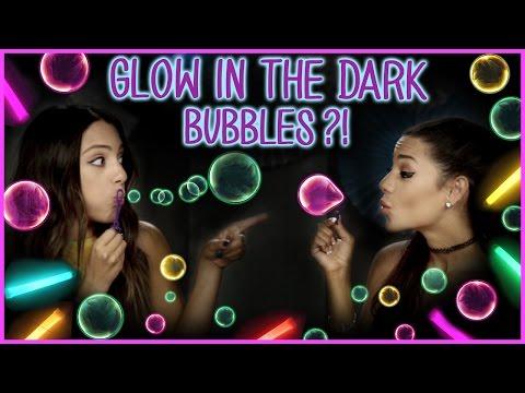 DIY Glow In The Dark Bubbles?! | Niki And Gabi DIY Or DI-Don't