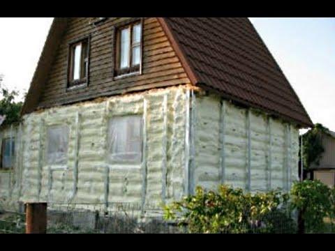 Можно ли утеплять деревянный дом