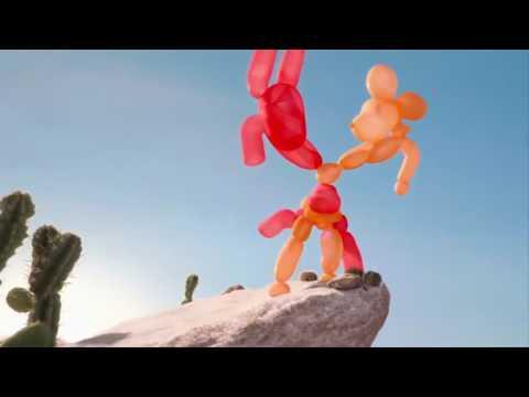 Мультфильм перекати-поле про танцующий почти шарик