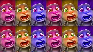 Learn Colors with My Talking Tom Colours for Kids Animation Education Cartoon Compilation P1R