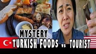 AMERICAN TRIES TURKISH FOODS
