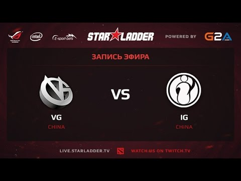 Vici gaming vs Invictus gaming game 1 StarSeries XII Finals