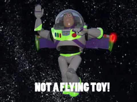Buzz Lightyear Commercial Re-made Video