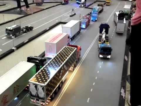 atomic rc carpet track tamiya tractor trailers amp custom