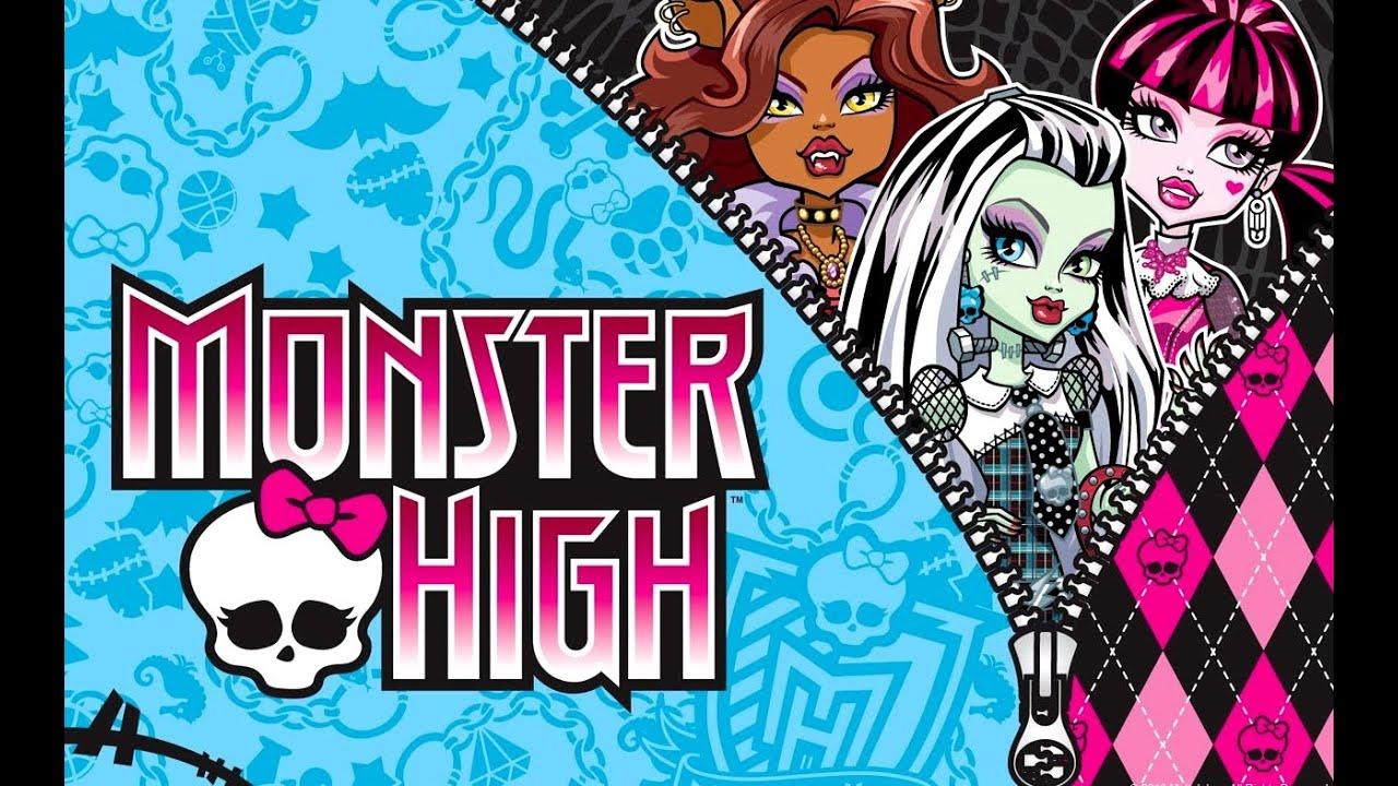 Lesbian videos on monster high cartoon erotic clip