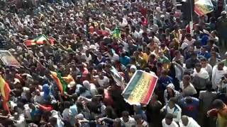 Huge rally in Bahirdar, Ethiopia