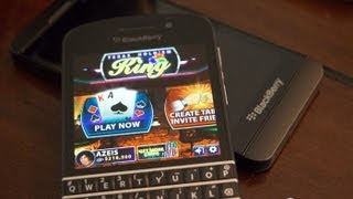 Texas Holdem King multiplayer on BlackBerry 10