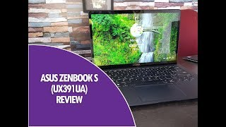 ASUS Zenbook S (UX391UA) Review- Ultra Thin and Powerful Laptop