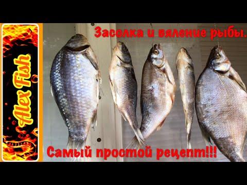 соление рыбы на рыбалке