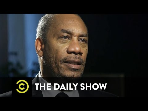 The Daily Show - Exclusive - In the Green Room with Joe Morton