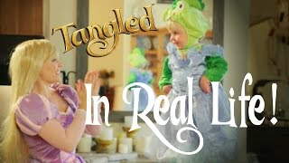 Tangled in REAL LIFE - When Will My Life Begin? & REPRISE - Evynne Hollens