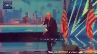 Trump dance modi music