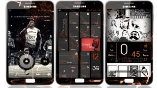 Best Android Themes : Samsung Galaxy Note #2 2012