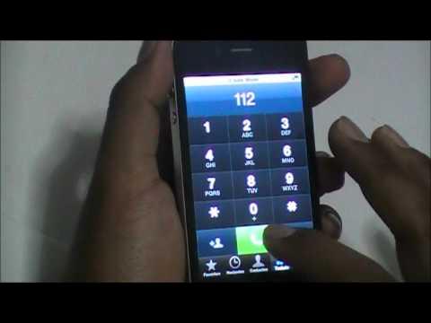 Como instalar el Gevey Sim para iPhone 4 abrir banda
