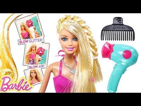 BARBIE y Su Secadora De Aire y De Brillos ♥.♥ Nuevos Juguetes Barbie