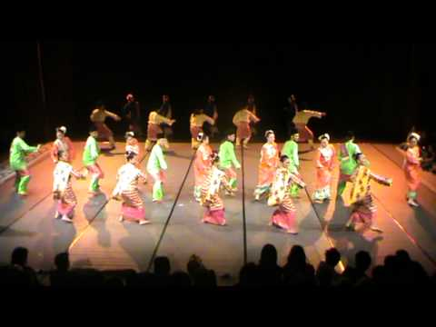 Malaysian Dance Peta Tari Aswara 2012 - Tarian Zapin (zapin Malaysia, Zapin Pekan, Zapin Putar Alam) video