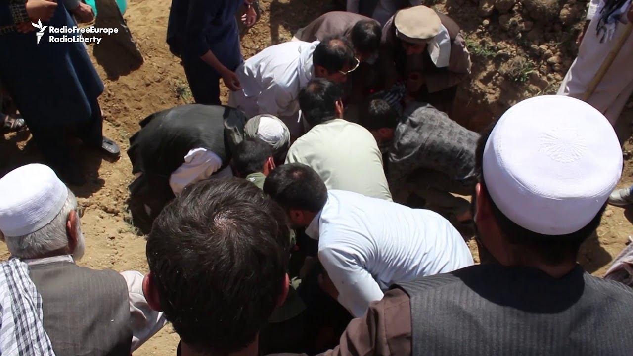 Funeral Held For Victims Of Kabul Mosque Attack