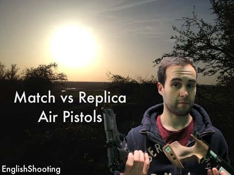 Air Pistols - Single Shot Match PCP vs Mutli Shot Replica Co2