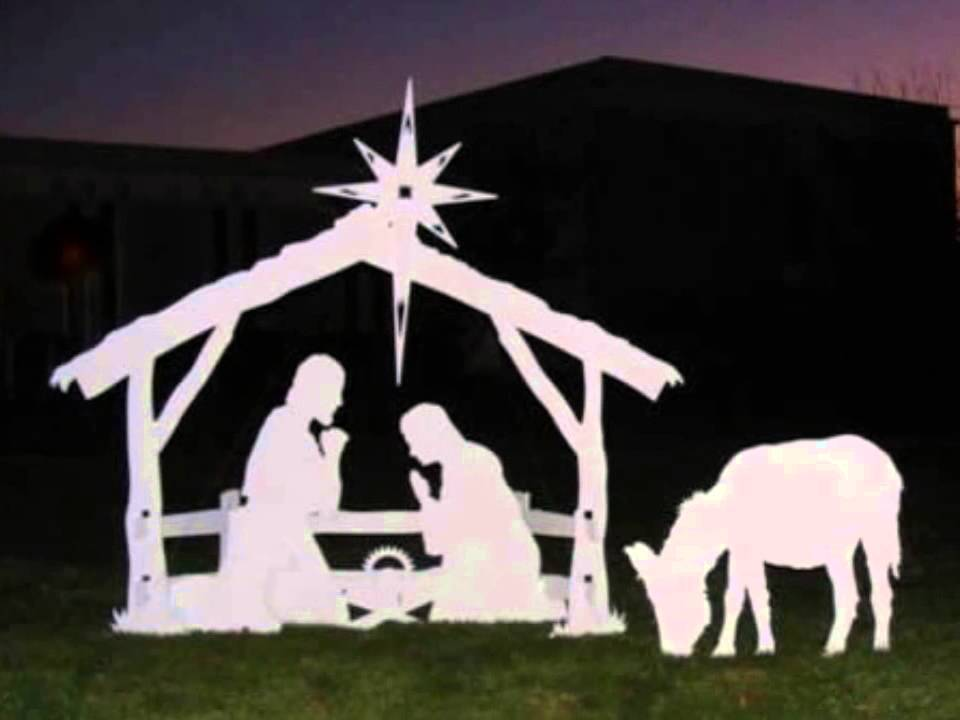Outdoor Nativity Sets For Sale Outdoor Christmas Decorations Nativity Sets On Sale Youtube