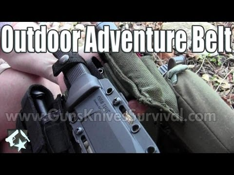 Outdoor Adventure Belt