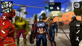 All Super Hero mod pack dengan POWER! Lebih dari 70skin